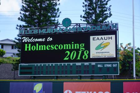 Holmescoming2018 01 scoreboard
