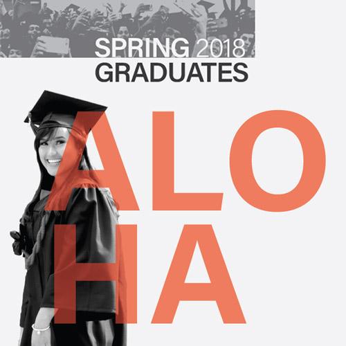 link to Aloha spring 2018 graduates!