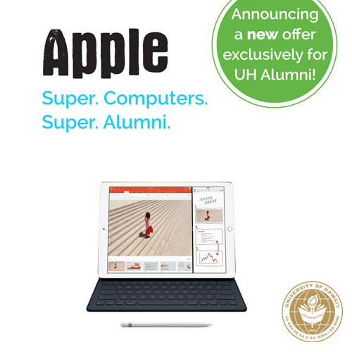 link to UH alumni save on Apple products and services