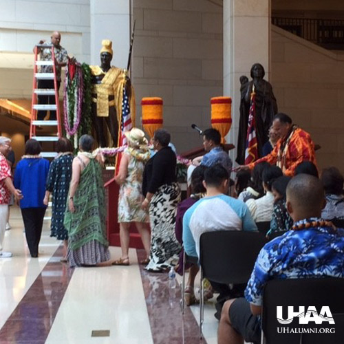 link to UHAA‒NCRC takes part in lei draping ceremony in DC