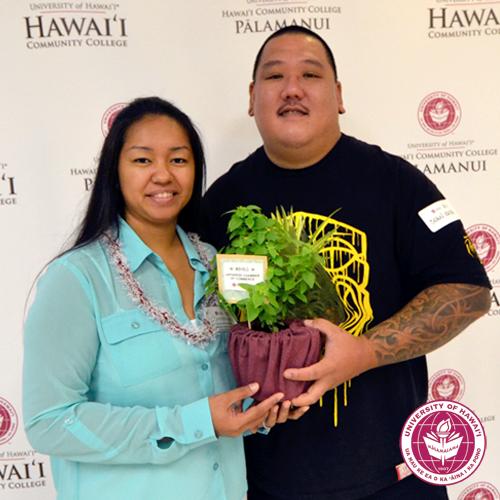 link to Hawai'i CC Scholarship Donor Mahalo Breakfast
