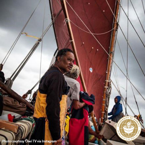link to UH alumni served as crew on the Hōkūleʻa