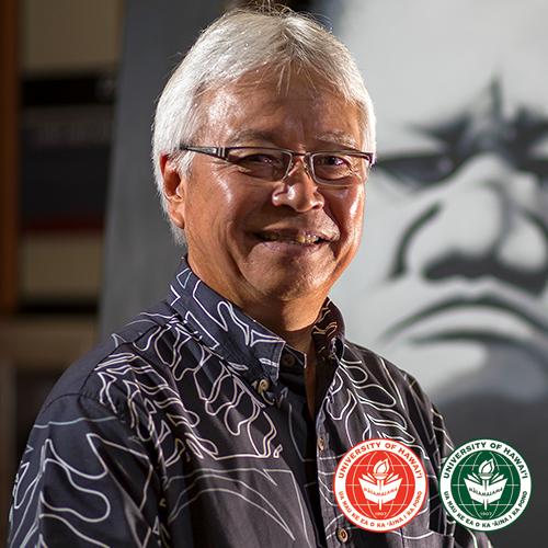 link to UH Hilo and UH Mānoa alumnus Larry Kimura