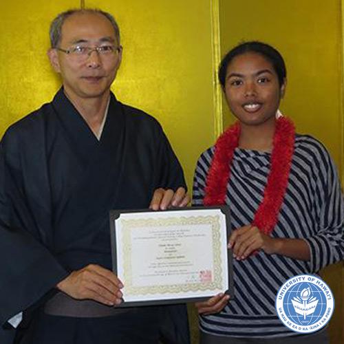 link to Chiaki Jones receives Japan scholarship
