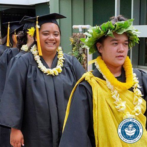 link to UH commencement Molokaʻi style