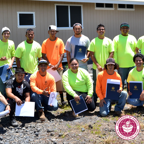 link to Hawai'i CC Alumni 50th Reunion of Model Home Project