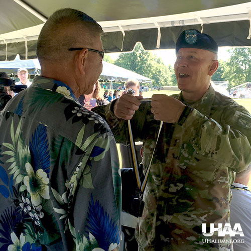 link to UH alumni join Army ROTC Hall of Fame