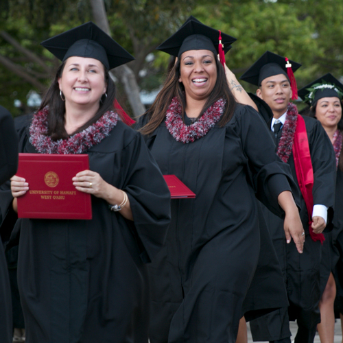 link to Call for UHWO fall 2018 commencement volunteers